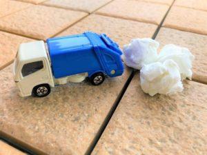 写真:ごみ収集車