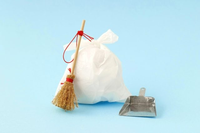 写真:ごみ処分・掃除