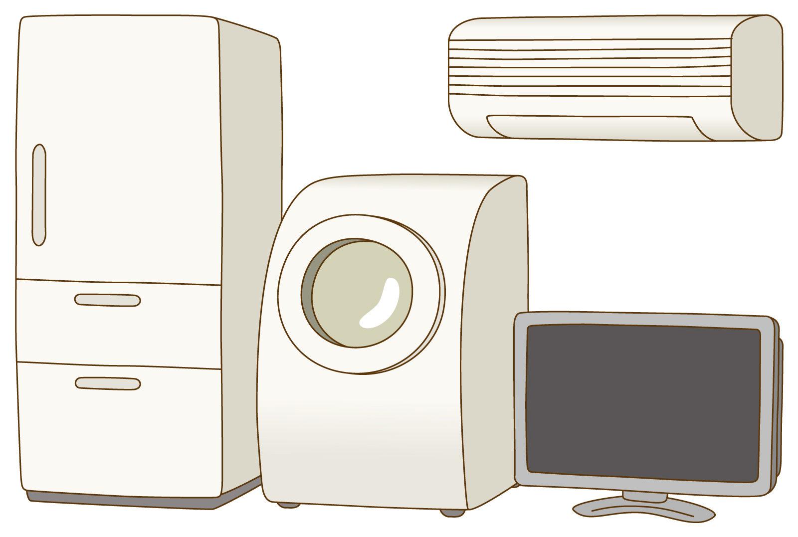 写真:家電用品